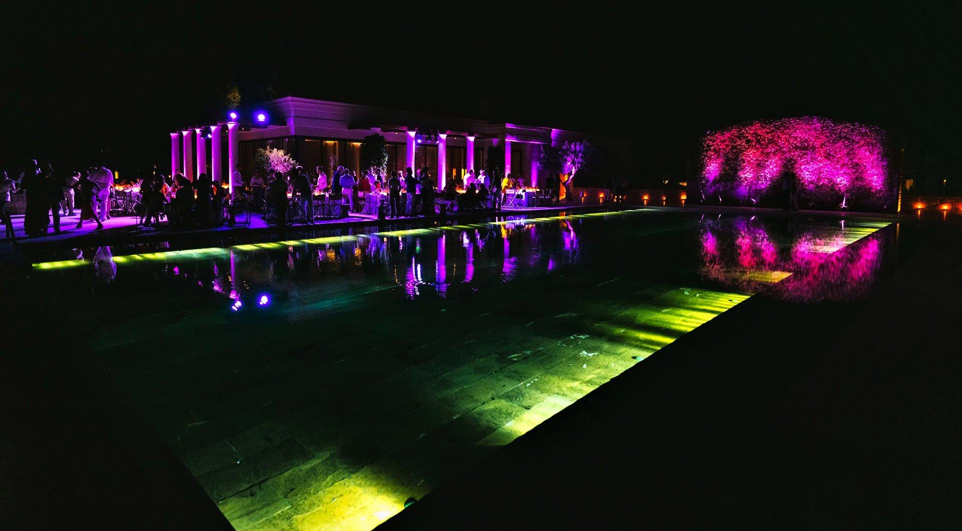 Amanzoe Wedding Event